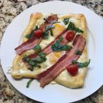 bacon tomato breakfast pastry