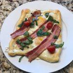 bacon tomato breakfast pastry