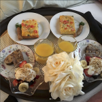 Breakfast in Bed at Aurora Staples Inn