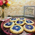 lavendar cookies